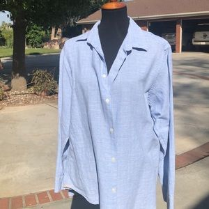 Banana Republic long sleeve linen shirt